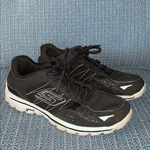 Skechers Go Walk Flash Sneakers Size 7 Black